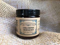 Chili Pepper Muscle Rub 4oz
