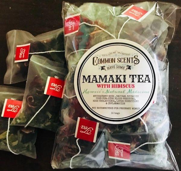 Organic Mamaki & Hibiscus (hibiscus sabdariffa) Tea