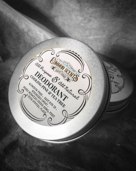 Cooling Pine Natural Deodorant