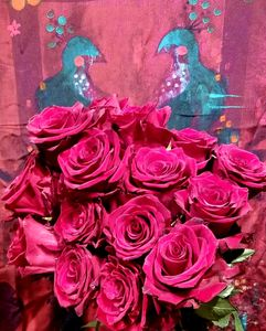 Roses Burgundy Bainbridge Island Best Florist Flower Shop Delivery