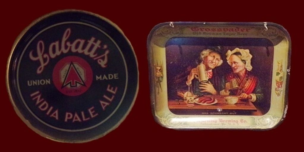 We buy collections of old beer trays and tip trays. Email jefflebo@aol.com to sell yours.