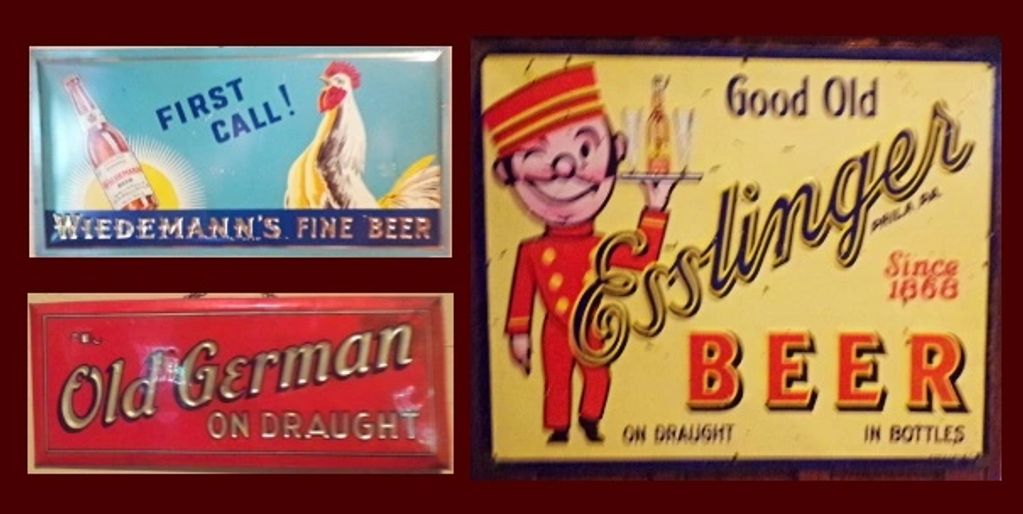 We buy old metal beer signs from all breweries. Email jefflebo@aol.com to sell yours.