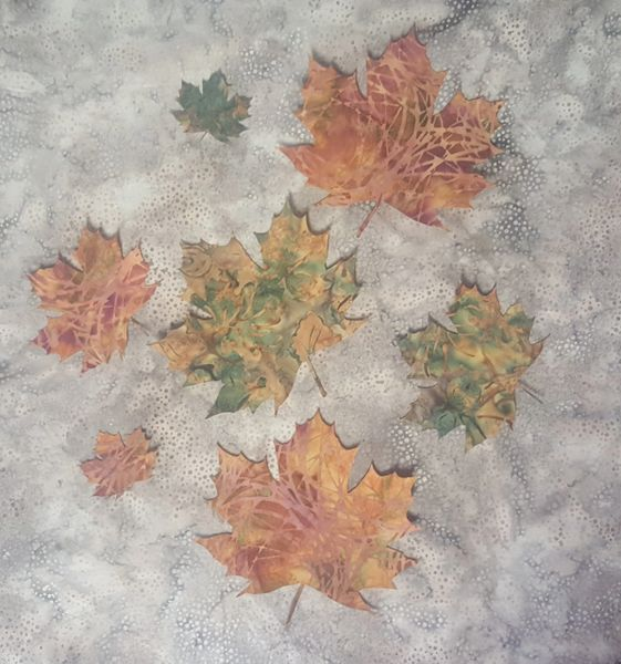 Fall Leaves, Laser Cut Applique, Set of 7
