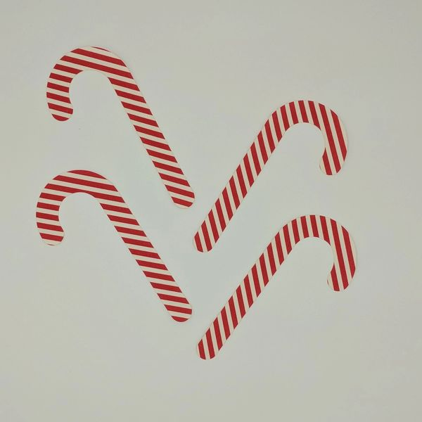 Candy Canes, Pre-Fused and Laser Cut