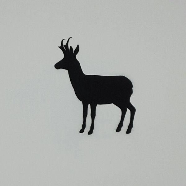 Antelope Pre-fused, Laser Cut Applique, 2 piece set