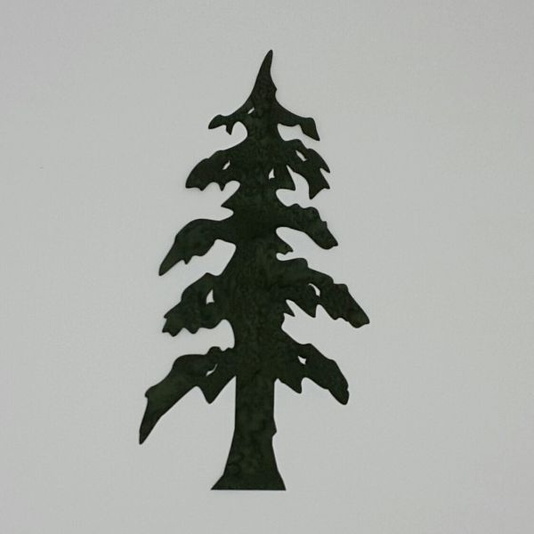 Lone Pine Tree Laser Cut And Pre Fused Applique