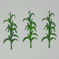 Corn Stalks, Laser Cut and Pre-Fused Applique Embellishments