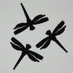 Dragonflies, Set of Three, Laser Cut and Pre-Fused