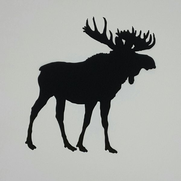 Moose, Laser Cut and Pre-Fused Applique