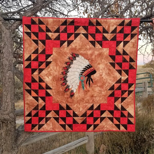 Regalia Wall Hanging, Native American Headdress, Laser Cut