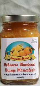 Habanero Mandarin Orange Marmalade 8.2oz
