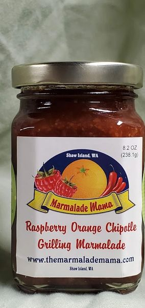 Raspberry Orange Chipotle Grilling Marmalade 8.2oz.