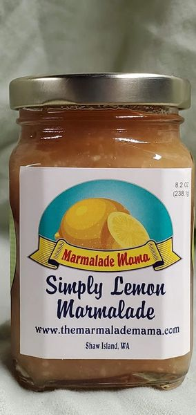 SIMPLY LEMON MARMALADE 8.2oz.