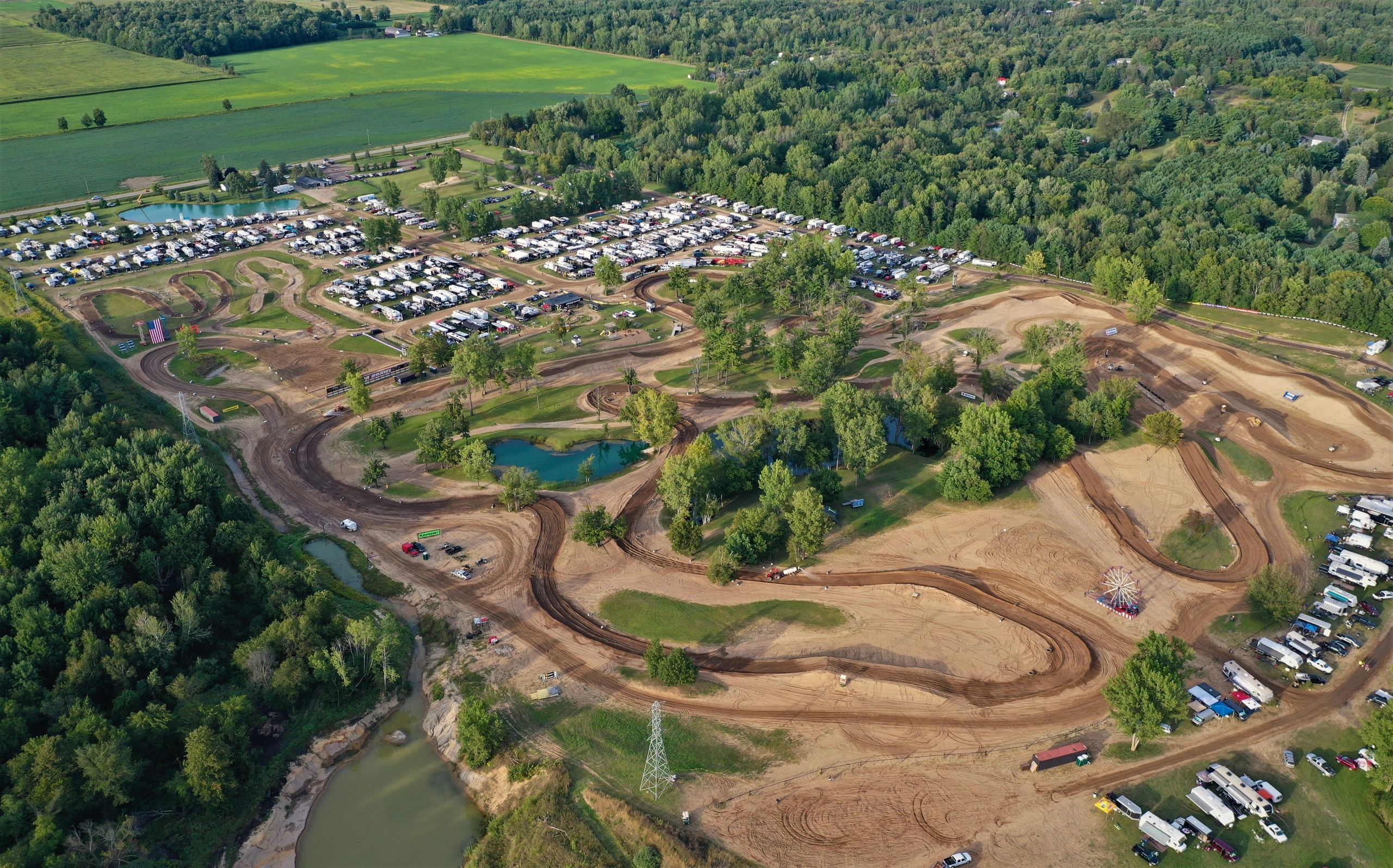MICHIGAN MOTOCROSS TRACK