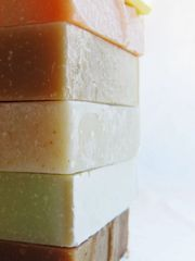 Set of 5 goat milk and honey soaps!