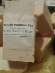 Vanilla Verbena tea goat milk soap