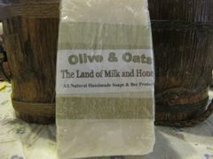 Olive and Oats goat milk and honey soap