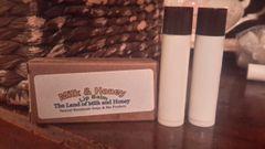 Milk and honey lip balm set