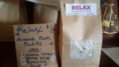 "Soothing Mineral Sea Salt Soak ""Relax"""