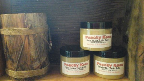 Peachy Keen shea butter hand and body balm