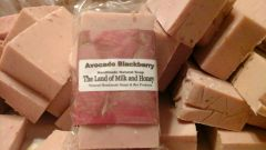 Avocado BlackBerry natural soap