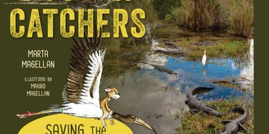 My newest nonfiction book, PYTHON CATCHERS SAVING THE EVERGLADES about the python invasion for young