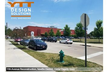 YTT Design Solutions 11th Avenue Roadway Reconstruction, Cedar Rapids, Iowa