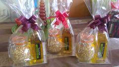 Garlic Olive Oil Popcorn Sac