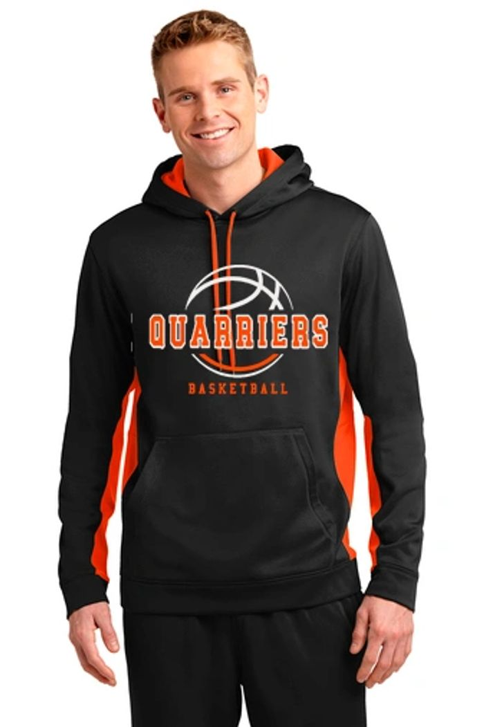 Dell Rapids Quarriers Basketball Hooded Sweatshirt