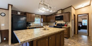Cooking will be enjoyable in this extra large kitchen. Cookware, flatware and utensils are supplied.
