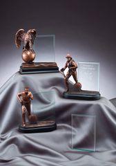 Bronze Hero Plaque