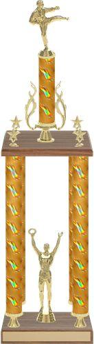 Large 4 Column Trophy