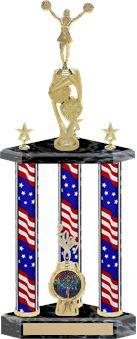 Small 3 Column Trophy