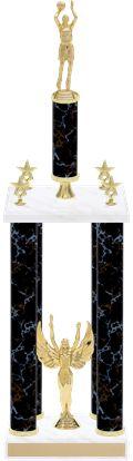 Small 4 Column Trophy