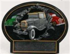 Burst Thru Antique Cars