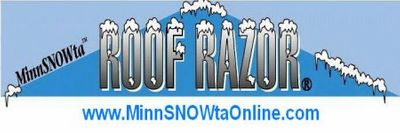 MinnSNOWta Online Roof Razor - The Official Roof Snow Rake of Minnesota