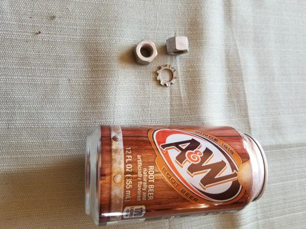 Flywheel Nut Left Hand Threads
