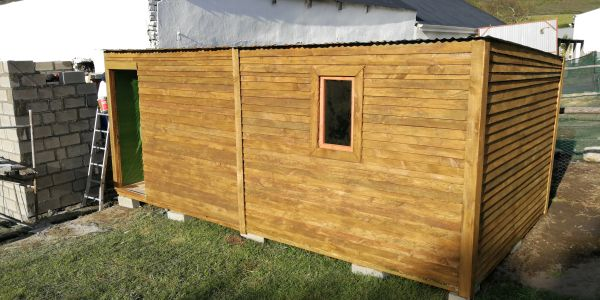 3 x 6 Wendy house Timber