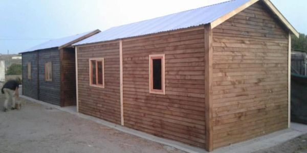 Wendy house Timber home 3 x 3 3 x 6
