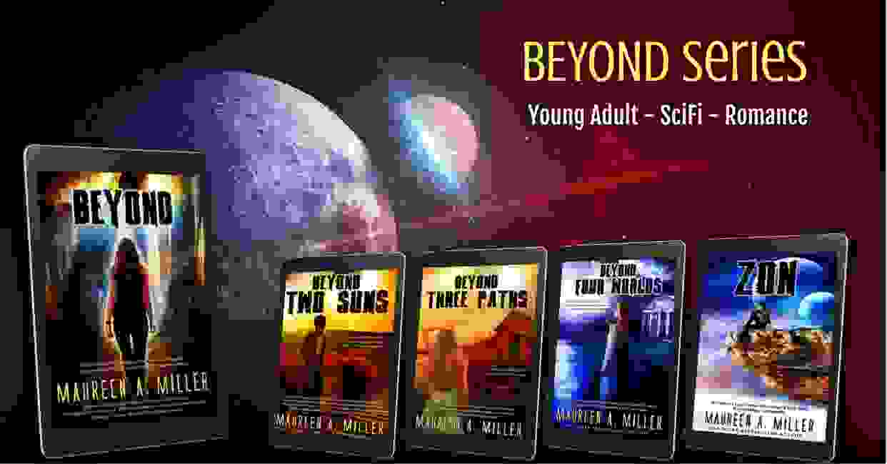 BEYOND Series book covers.