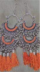 Narangi Silver Earrings