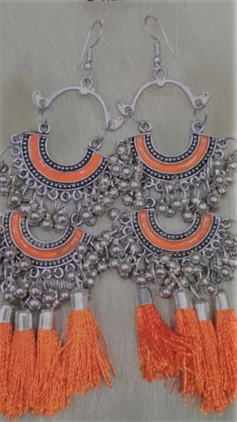 Narangi Silver Earrings