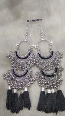 Kaal Silver Earrings