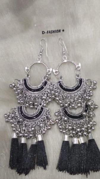 Kaal Silver Earrings