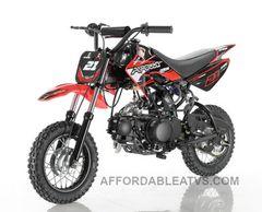 APOLLO 70cc Dirt Bike Semi- Auto