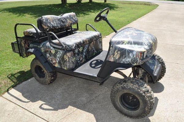 Mossy Oak Camo Golf Cart Wrap Affordable Atv Side By