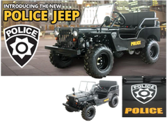Ice Bear 125cc Police Jeep