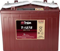 12V TROJAN DEEP CYCLE BATTERY (V cap)