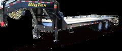 Big Tex 22GN Tandem Dual Wheel Gooseneck Trailer(25'+5' dovetail))