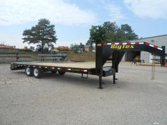 Big Tex 14GN Single Wheel Tandem Axle Gooseneck Trailer(20'+5' dovetail)